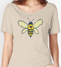 Bees and Flowers Women's Relaxed Fit T-Shirt