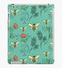 Bees and Flowers iPad Case/Skin