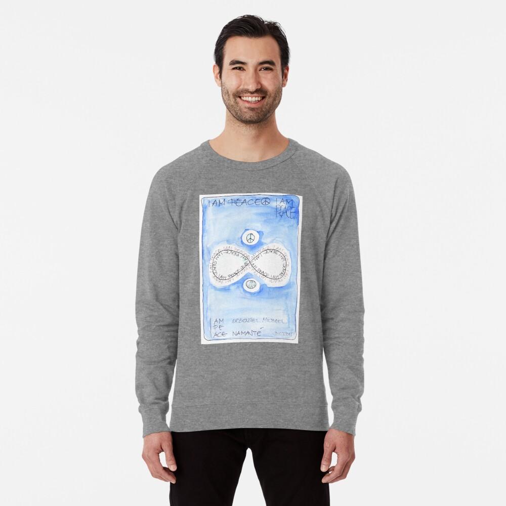 Manifesto »I AM PEACE« Leichtes Sweatshirt