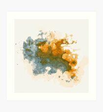Cloud Bursts Art Print