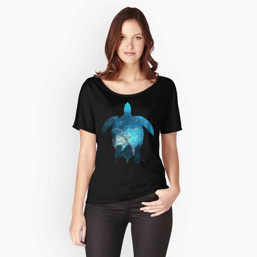 Meeresschildkröte - unter dem Meer Loose Fit T-Shirt