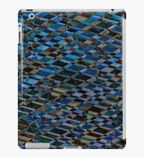 Wooden romb pattern - seamless texture iPad Case/Skin
