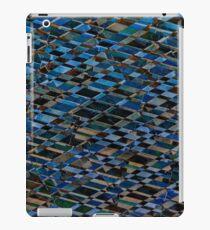 Wooden romb pattern - seamless texture iPad Case/Skin