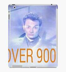 Over Nine Thousand iPad-Hülle & Klebefolie