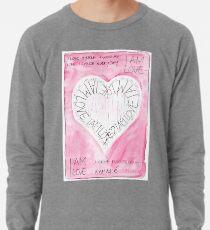 Manifesto »I AM LOVE« Leichtes Sweatshirt