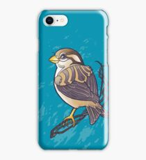 Mandala Sparrow iPhone Case/Skin