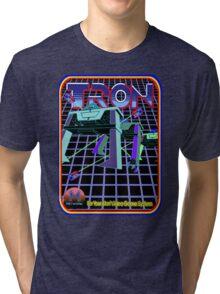 Vintage Tron Game Tri-blend T-Shirt