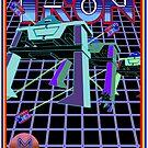 Vintage Tron Game by J. Stoneking