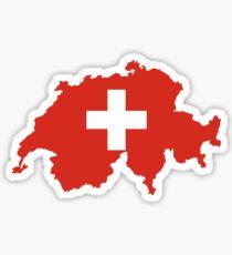 Swiss Patriotism Sticker