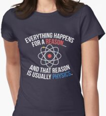Always Physics Women's Fitted T-Shirt