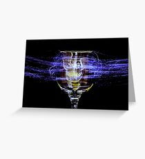 Cheese and Wine Greeting Card