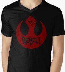 Rebel! Men's V-Neck T-Shirt