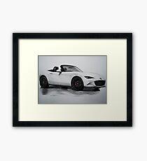 2016 Mazda MX-5 Miata Convertible - Rendering  Framed Print