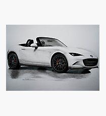 2016 Mazda MX-5 Miata Convertible - Rendering  Photographic Print