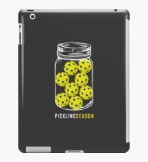 Pickling Season Funny Pickleball Jar iPad Case/Skin