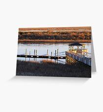 Atlantic Intracoastal Waterway Greeting Card