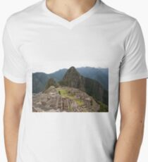 Calendar Machu 09 Men's V-Neck T-Shirt