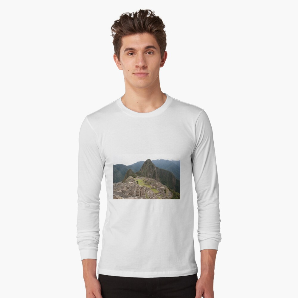 Calendar Machu 09 Long Sleeve T-Shirt Front