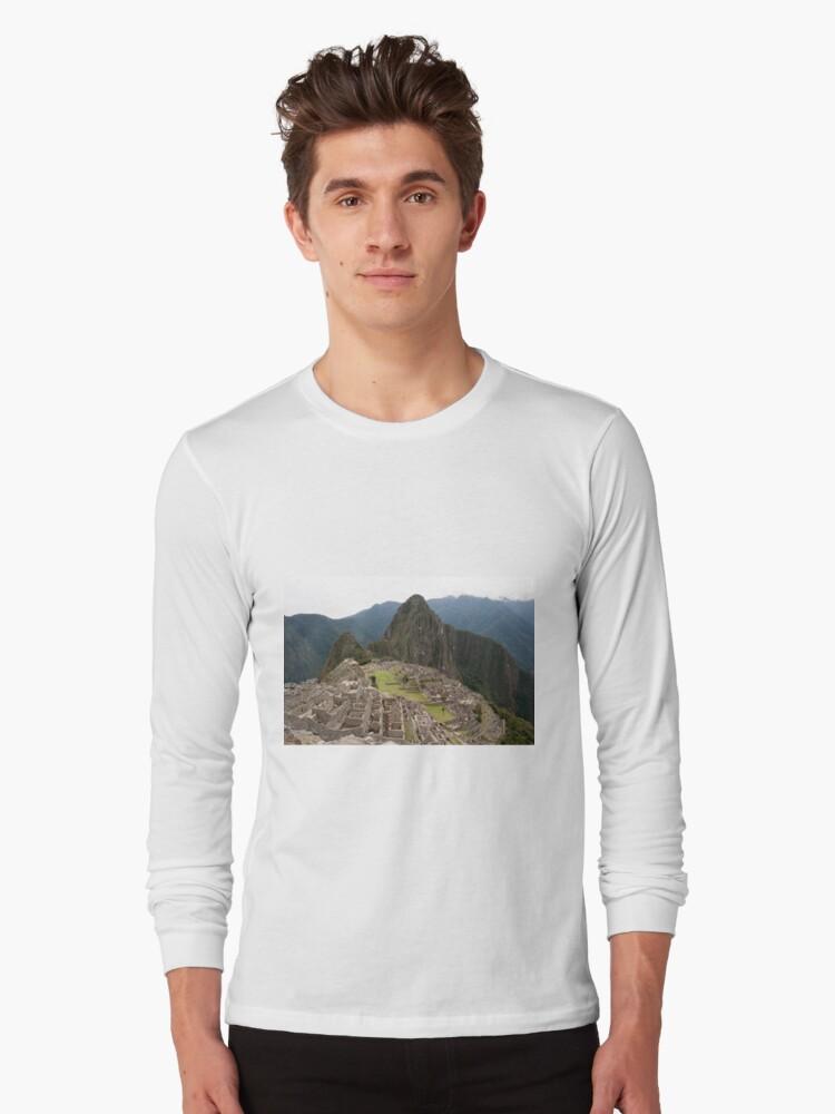 Calendar Machu 09 Long Sleeve T-Shirt Front