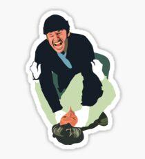 Jack Nicholson - Cuckoos Nest Sticker