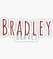Bradley Braves Sticker