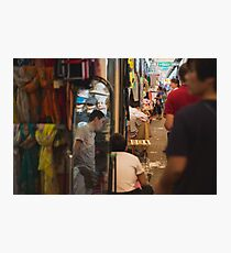 Mirror Market Photographic Print