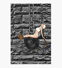 ✿♥‿♥✿ I CAME IN LIKE A WREAKING BALL-I NEVER HIT SO HARD IN LOVE-MILEY CYRUS SPOOF-WREAKING BALL SONG VIDEO INCLUDED✿♥‿♥✿  Photographic Print