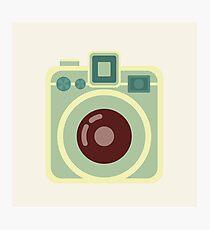 Vintage Square Camera Photographic Print