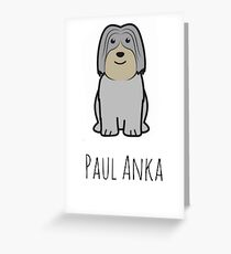 Paul Anka - Gilmore Girls  Greeting Card