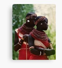 Samburu Girls Canvas Print