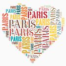 Inscriptions Paris in Heart by houk