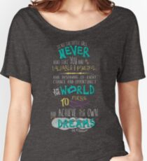 Hillary Clinton Quote - Version 2 Women's Relaxed Fit T-Shirt