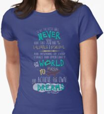 Hillary Clinton Quote - Version 2 Women's Fitted T-Shirt