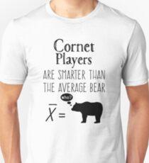 Funny Trumpet T-shirt - Average Bear T-Shirt