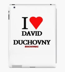 I Love David Duchovny iPad Case/Skin