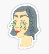 Flower Tears Sticker