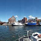 Wismar Harbour Panorama, Germany by Remo Kurka