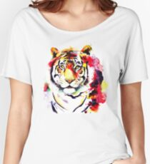 The Big Tiger Women's Relaxed Fit T-Shirt
