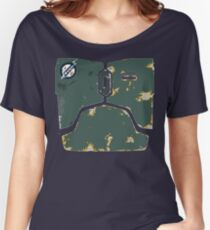 Boba Fett chestplate design  Women's Relaxed Fit T-Shirt