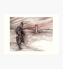Childe Roland to the Dark Tower Came Art Print