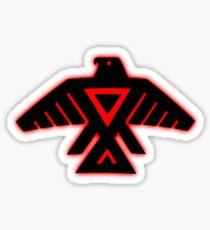 Native American Red Thunderbird Sticker