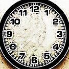 Grungy Strangeness Clock by Ra12