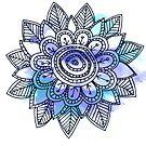 Little Blue Flower  by teegs