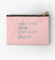 Once you Jimin... Studio Pouch