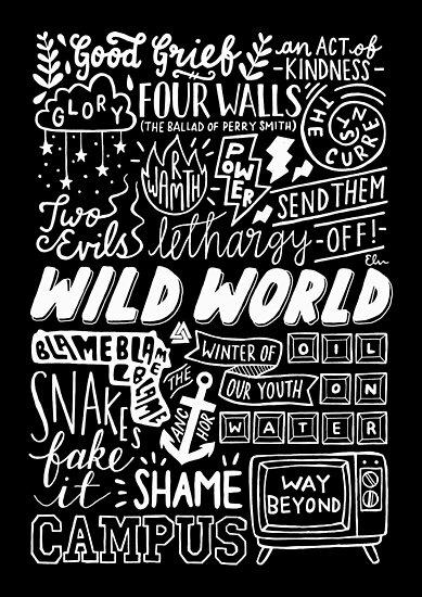 WILDE WELT - SONG TITEL (DUNKEL) von elisavictoria