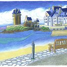 St Malo Brittany France by RiverbyNight