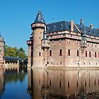 The castle of Haarzuilen - the Netherlands by Arie Koene