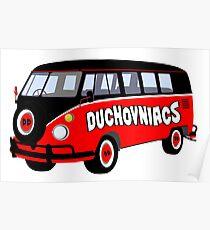 Duchovniacs Bus Poster