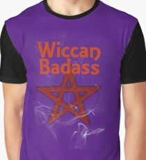 Wiccan Badass Graphic T-Shirt