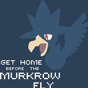 Pokémon Sun & Moon - Get home before the Murkrow fly. by xIMasterDarkIx